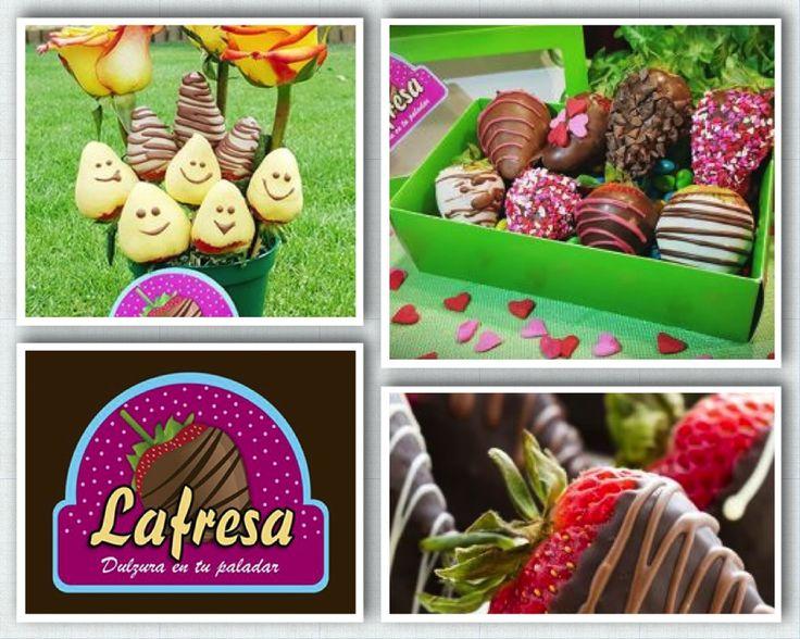 LAFRESA, La frescura de las fresas y la dulzura del chocolate.  La frescura de las fresas y la dulzura del chocolate y las uvas junto con el sabor inigualable de los m&m, hacen una deliciosa combinación. ¡Contáctanos y realiza tu pedido!  Una experiencia dulce en tú paladar llena de emociones tú día por medio de un delicioso manjar llamado: Lafresa 57 3165313250 lafresacol@gmail.com Fecebook: lafresa Instagram: lafresacol