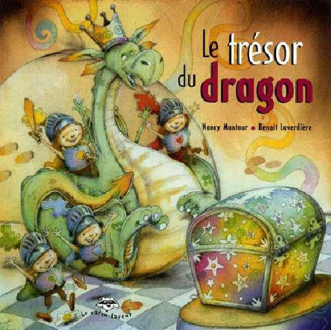 Le trésor du dragon- Un beau matin, Pinoche le dragon rencontre Zéphir, le magicien des saisons. Celui-ci lui offre de partager son trésor. Le gourmand dragon imagine tout de suite un festin de friandises. Il s'empresse de réciter la formule magique, mais, surprise! le trésor est bien plus fabuleux que prévu! Un album haut en couleur à la découverte des saisons avec un sympathique dragon.