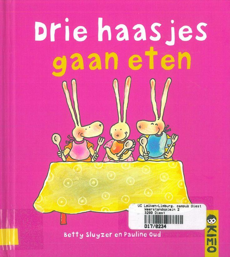 Drie haasjes gaan eten (2008). Betty Sluyzer en Pauline Oud