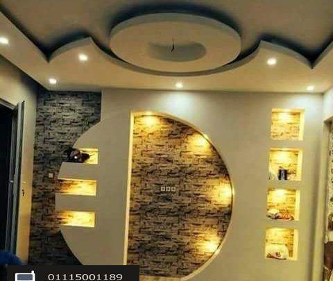 أحدث ديكور شاشات البلازما ديكور جبس بورد Tv Wall Design Wall Tv Unit Design Lcd Wall Design