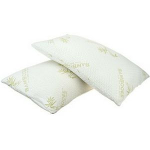 39% OFF Bamboo Memory Foam Pillows (1- or 2-Pack) - Deals Frog #coupons #frugal #couponing