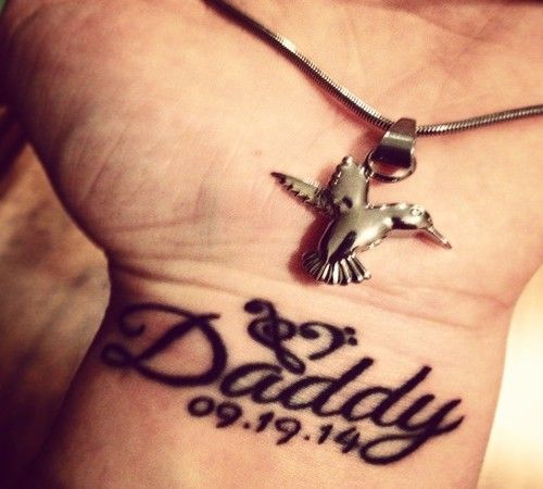 nice dad tattoos in memory of tattoos pinterest dad tattoos tattoo and mom tattoo designs. Black Bedroom Furniture Sets. Home Design Ideas