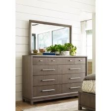 Rachael Ray Highline 9 Drawer Dresser with Optional Mirror