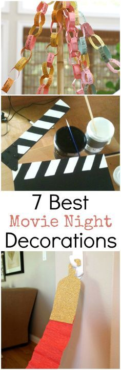 It's movie time! Plus party time! Help the kids plan the most epic movie night get together their friends have ever seen! These 10 movie night decorations are sure to impress the guests! 7 Best Movie Night Decorations and Snacks. #HorizonSnacks #ad @horizonorganic