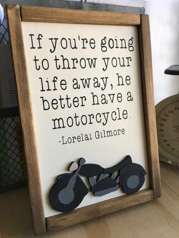 Gilmore Girls  motorcycle  motorcycle gifts  by ThePurposefulTree