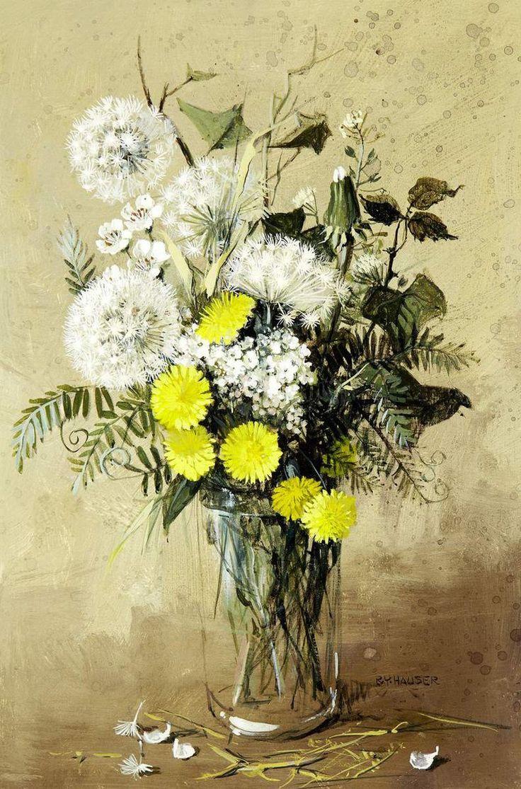 Renee Yolanda Hauser (1919-2008). Чудесные натюрморты