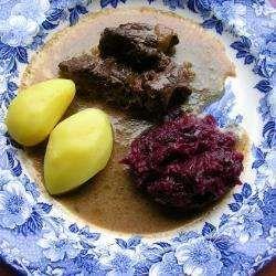 Makkelijke goulash van hertenvlees