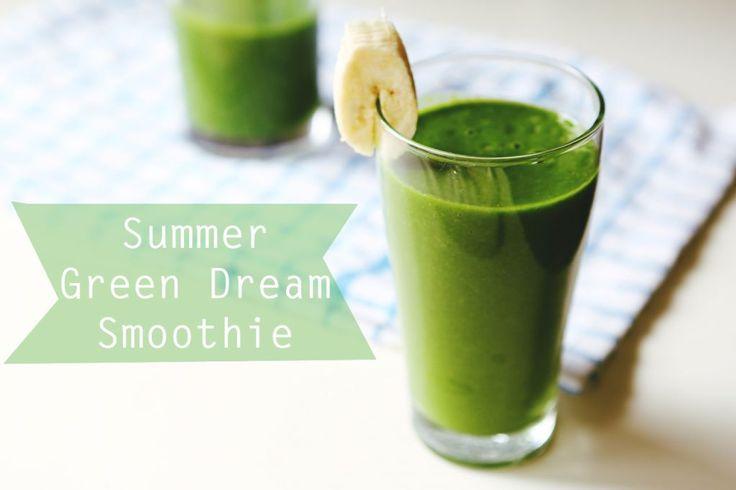 Summer Smoothie: The Green Dream | Move Nourish Believe