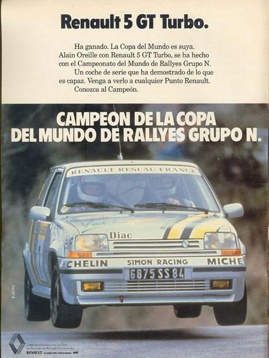 Renault Super 5 Gt Turbo rallye