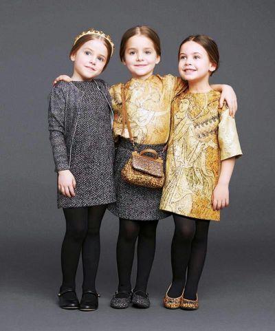 Dolce  Gabbana kids modeling