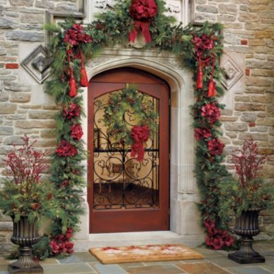 10 Images About Frontgate Holiday Decor Challenge On
