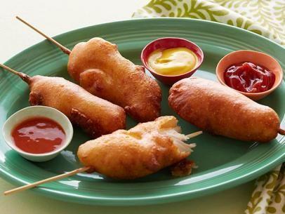 Fried Chicken Corn Dogs