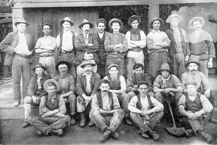 CORNISH MINERS (1860s) | South Australia: At the time, recent immigrants from Cornwall     ✫ღ⊰n