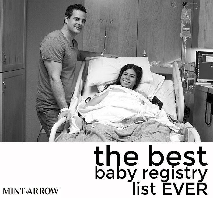 the BEST baby registry list ever! - Mint Arrow // Powered by chloédigital