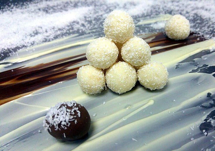 Raffaello με λευκή σοκολάτα