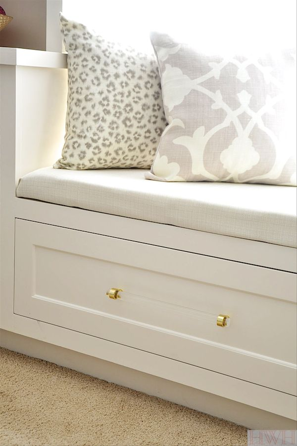 Honey We're Home: How to Build a No Sew Bench Seat