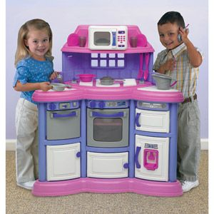 American Plastic Toys Playtime Kitchen Christmas 4 Tink