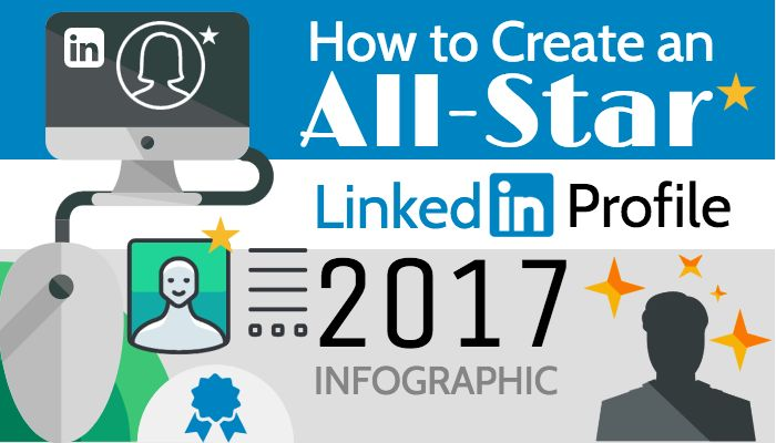 How to Create an All-Star LinkedIn Profile [INFOGRAPHIC]