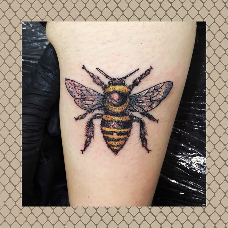 290 best the manchester bee images on pinterest bee for Bee tattoo manchester