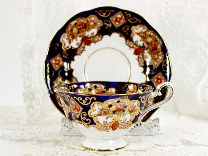 Royal Albert - Heirloom - Imari Bone China Teacup and Saucer