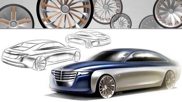 2021 mercedesbenz uclass concept for an ubersaloon