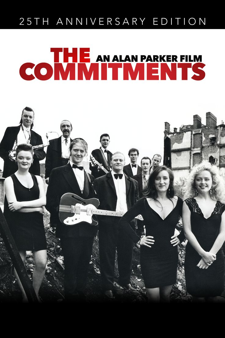 The Commitments Movie Poster - Robert Arkins, Johnny Murphy, Andrew Strong #TheCommitments, #RobertArkins, #JohnnyMurphy, #AndrewStrong, #AlanParker, #Comedy, #Art, #Film, #Movie, #Poster