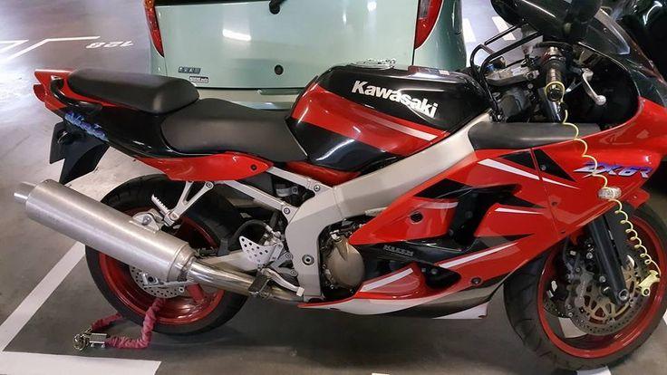 Kawasaki Ninja ZX6R #tekoop #aangeboden in de groep van #Motortreffer (zie: www.facebook.com/groups/motorentekoopmt) #motorentekoopmt #kawasaki #kawasakimotors #kawasakinederland #kawasakifanclub #kawasakininja #kawasakininjazx6r
