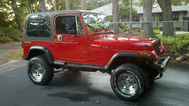 1987 Jeep Wrangler YJ (I want mine green or black with a soft top)