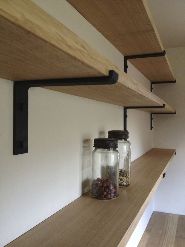 Kitchen/Pantry/Laundry Room brackets for shelves