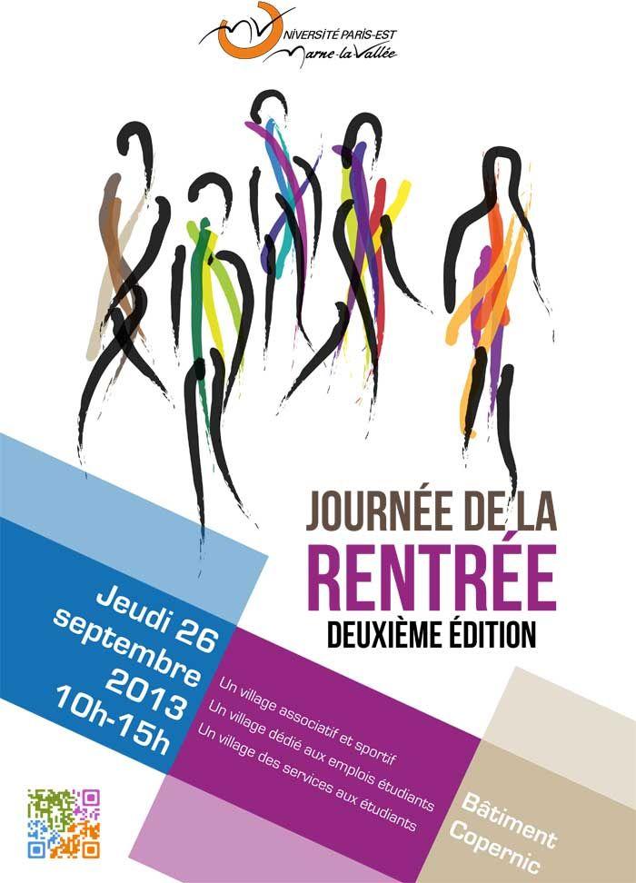 Journée de la rentrée 2013 - Université Paris Est Marne la Vallée