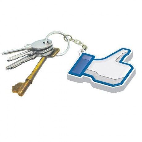 """Μπρελόκ Κλειδιών """"Facebook Like"""""""