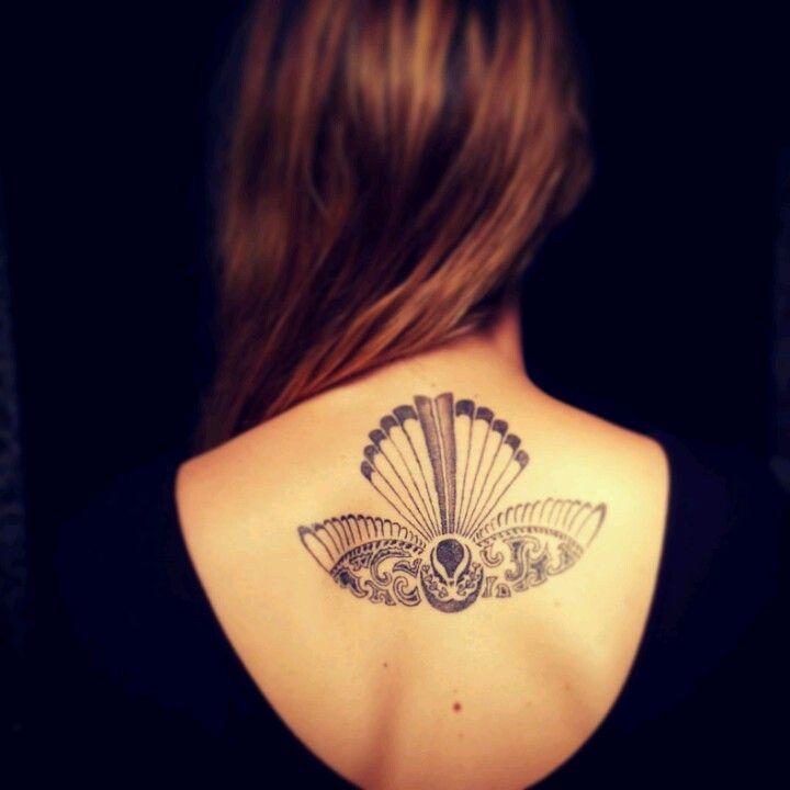 Tattoo Designs Nz: Piwakawaka (nz Fantail)