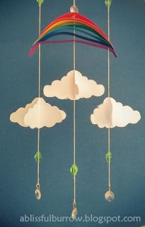 Simple Paper Mobile | A Blissful Burrow