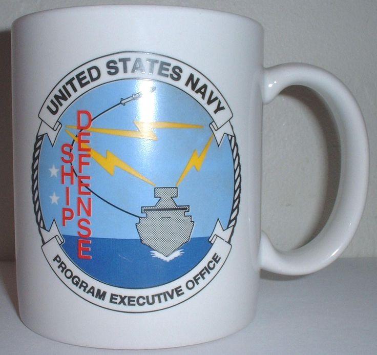 USN US Navy Program Executive Office for John Hopkins University jhu/apl ceramic coffee mug by Nagmashdriver on Etsy