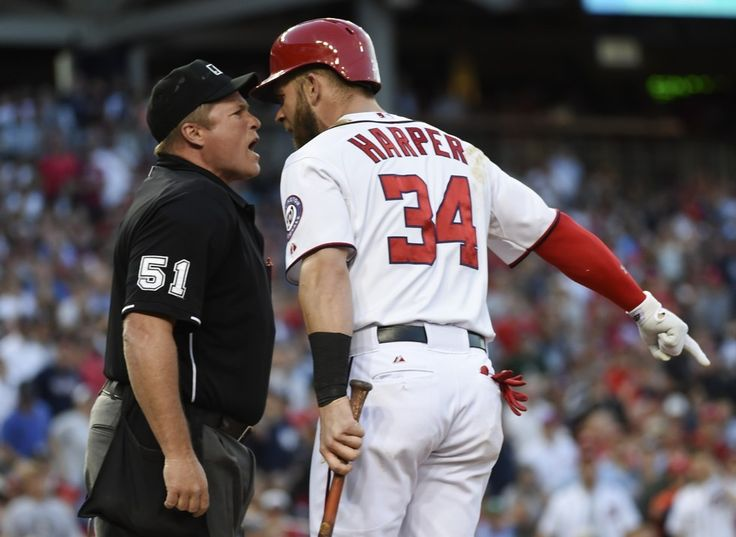 Bryce Harper, Matt Williams ejected in third inning against the Yankees (UPDATED)