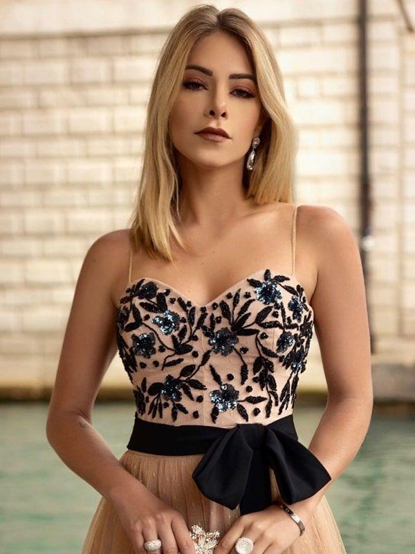 Vestido de festa nude: 25 longos para vestir em 2019 – pronto para a festa   – Šaty