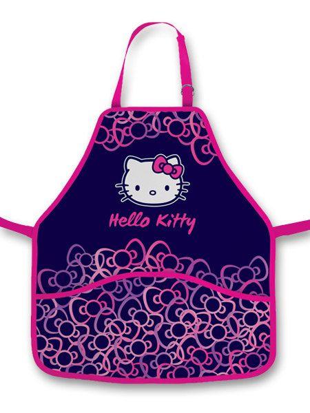 Zástěrka na výtvarku pro holky http://activacek.cz/produkt/zastera-do-vytvarne-vychovy-hello-kitty-1497/