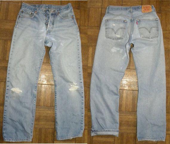 Levi's 501 Jeans / vintage size 32 / by JewvenchyVintageshop
