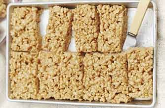 No-bake toffee krispie bars recipe - Recipes - goodtoknow