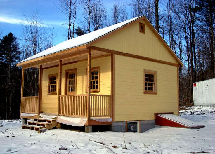 Summerwood 20x20 Canmore Prefab Cabin The Owner Added A