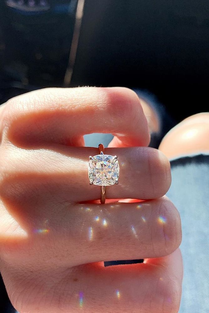 18 Simple Engagement Rings For Girls Who Love Classic ❤️ Simple engagement r…