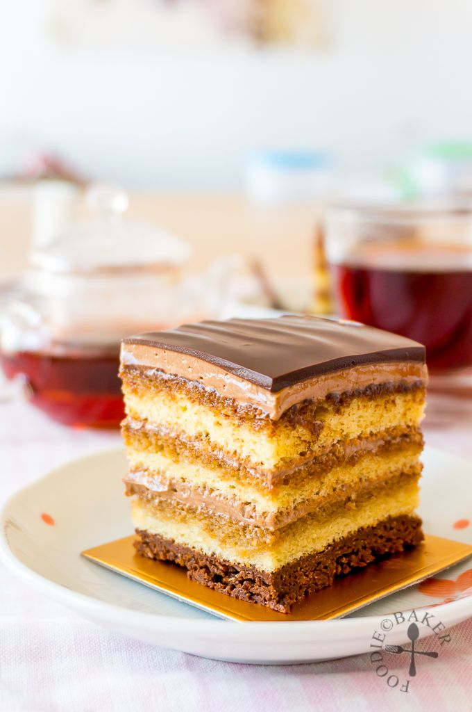 Make Opera Cake with Foodie Baker and the Kenwood Chef Sense #Singapore