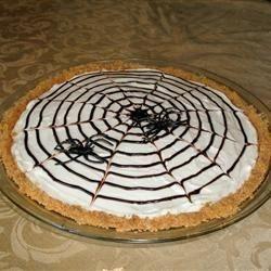 Cheesecake toile d'araignée