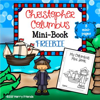 Grab this FREE 8-page mini-book with fun facts about Christopher Columbus! It will be a great addition to your Columbus Day lessons. This is a small part of a larger resource we have available. Check out our Flag and Capital social studies unit that includes worksheets, THREE mini-books, a review sheet and a test!