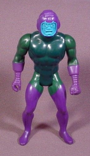 "Kang The Conqueror Action Figure, 4 3/8"" Tall, 1984 Mattel, Marvel Super Heroes Secret Wars"