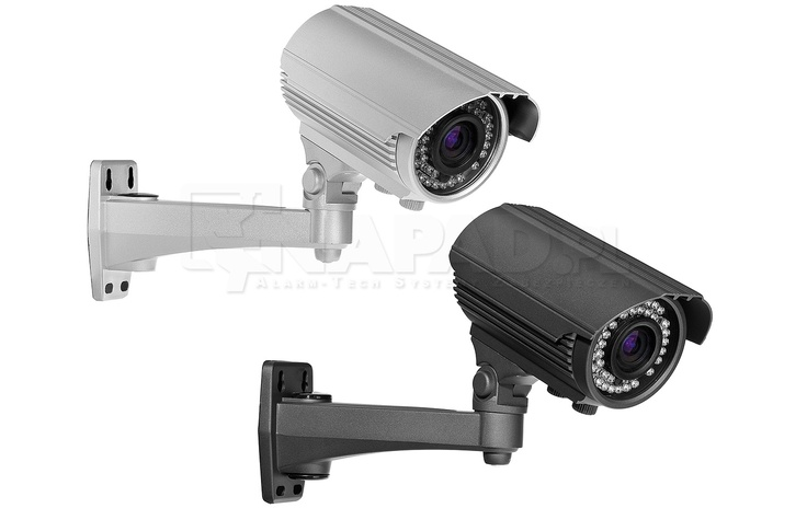 Kamera CCTV z oświetlaczem podczerwieni AT VI560 OSD 2.8-12 Przetwornik 600/700TVL Obiektyw 2.8-12mm Funkcje: AWB AGC AES ATW 2DNR DWDR. Kamera z regulowanym obiektywem AT VI560OSD to wysokiej klasy kamera do monitoringu, która potrafi efektywnie pracować zarówni w dzień, jak i w nocy. Regulowany obietyw pozwala na indywidualną konfigurację zakresów rejestracji obrazu, a czytelne menu OSD pozwala na szybką i łatwą obsługę urządzenia. Dostępna w 2 kolorach. Zobacz więcej kamer…