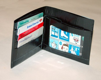 The boys had fun making these and love them. Duct Tape Wallet