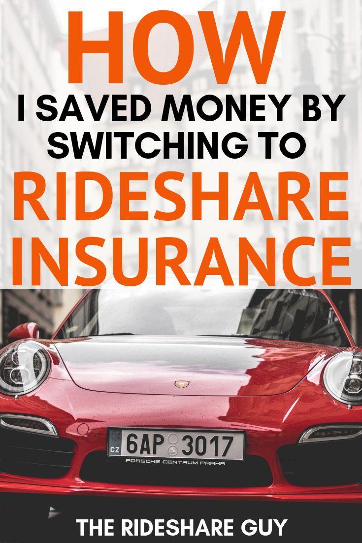 How I Saved Money By Switching To Rideshare Insurance Rideshare