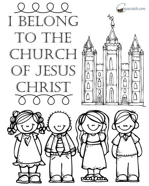 LOVE this handout for nursery! I belong to the Church of Jesus Christ