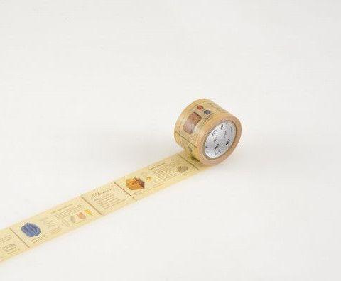 """MT Tape - MT Washi Tape """"Encyclopedia: Mineral"""" MTEX1P71"""